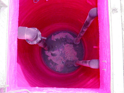 manholes and catch basins protective coating