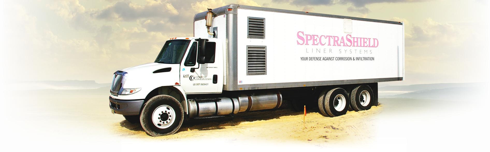 SpectraShield truck